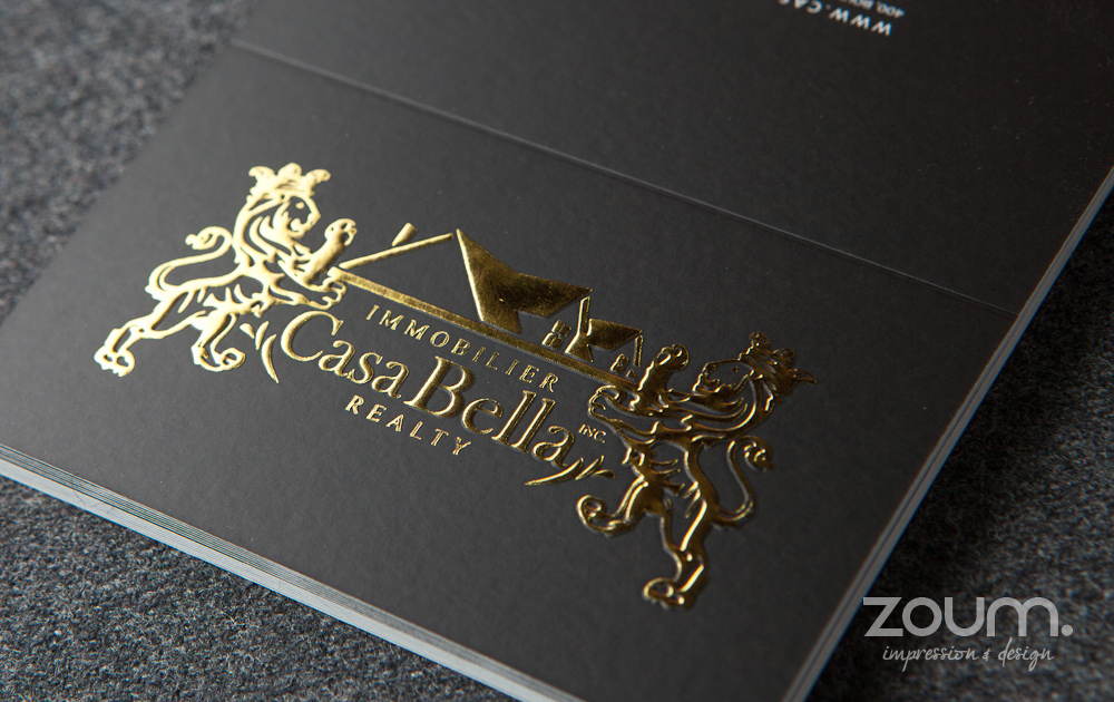Metallic Hot Foil Stamping By ZOUM