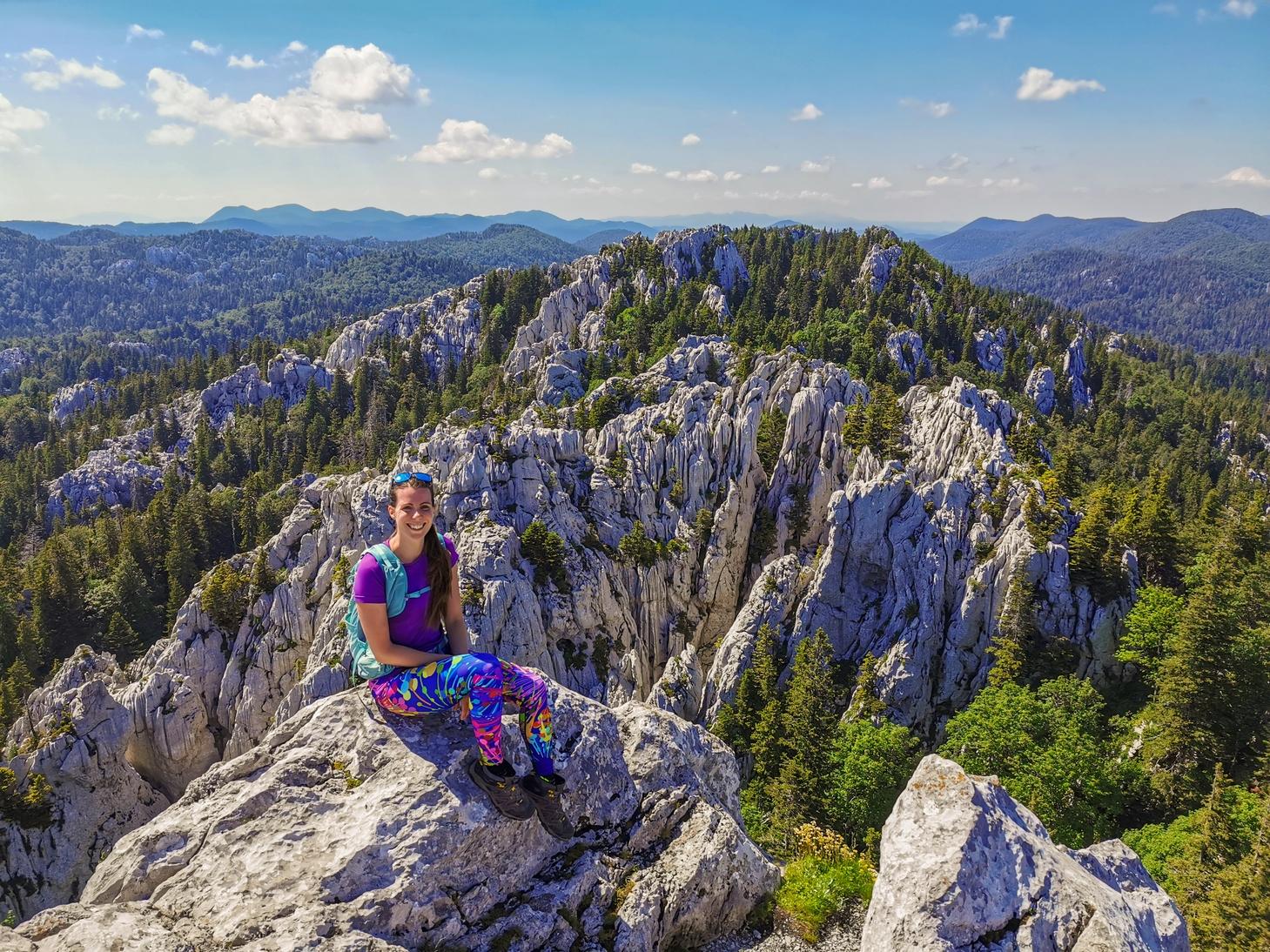 Bijele i Samarske stijene – Vihoraški put