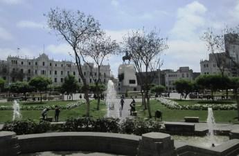 Lima, Plaza San Martin