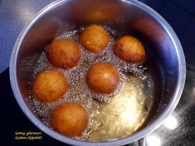 Zdjęcie - Pączusie serowe - mini (Quarkbällchen) - Przepisy kulinarne ze zdjęciami