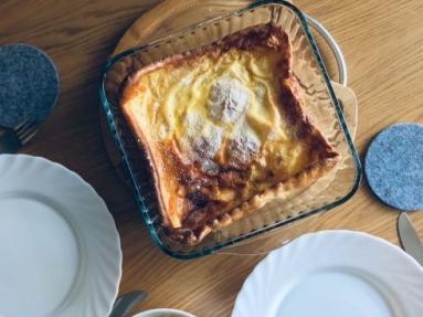 Zdjęcie - Dutch baby, czyli pieczonynaleśnik - Przepisy kulinarne ze zdjęciami