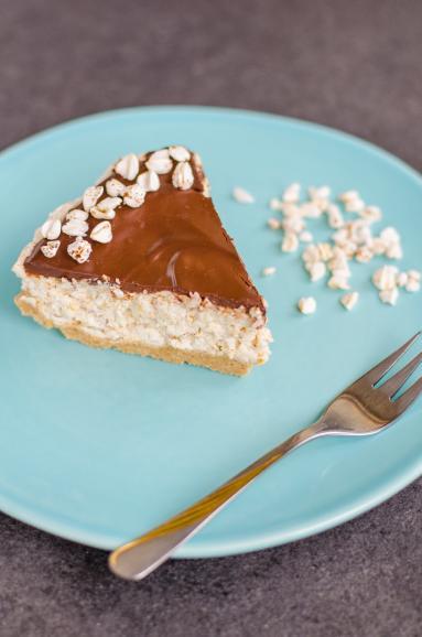 Zdjęcie - Ciasto Kinder Country (bez cukru i bez pieczenia) - Przepisy kulinarne ze zdjęciami
