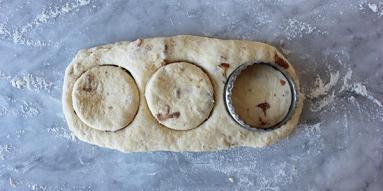 Zdjęcie - Scones z kurkami - Przepisy kulinarne ze zdjęciami