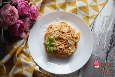 Zdjęcie - Spaghetti al pesto trapanese - Przepisy kulinarne ze zdjęciami