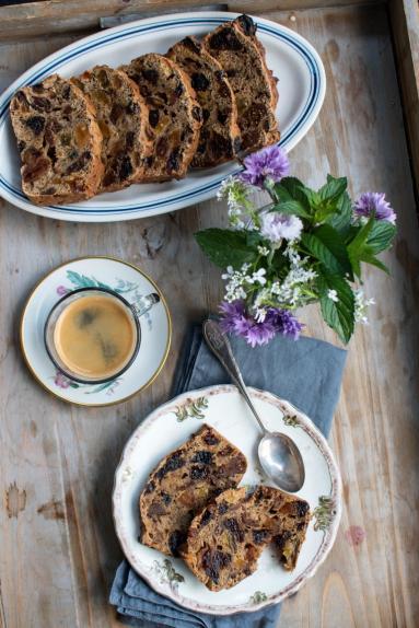Zdjęcie - Chlebek bakaliowy (bez tłuszczu) - Przepisy kulinarne ze zdjęciami