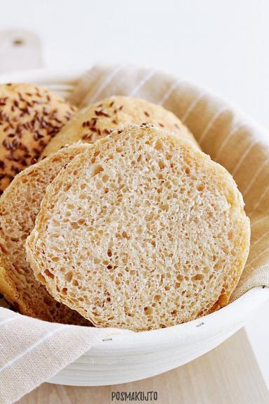 Zdjęcie - Bułki orkiszowe - Przepisy kulinarne ze zdjęciami