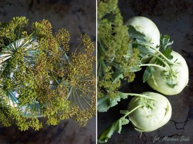 Zdjęcie - Kalarepa kiszona - Przepisy kulinarne ze zdjęciami