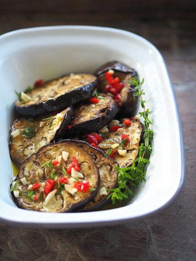 Zdjęcie - Bakłażany marynowane w oliwie. Smaki lata - Przepisy kulinarne ze zdjęciami