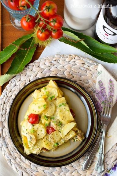 Zdjęcie - Potrawka ziemniaczana z patelni – U stóp Benbulbena - Przepisy kulinarne ze zdjęciami