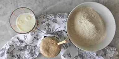 Zdjęcie - Chleb maślankowy na zakwasie - Przepisy kulinarne ze zdjęciami