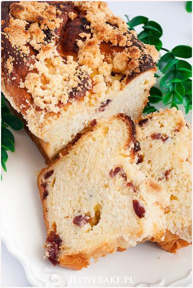 Zdjęcie - Drożdżówka z serem - Przepisy kulinarne ze zdjęciami