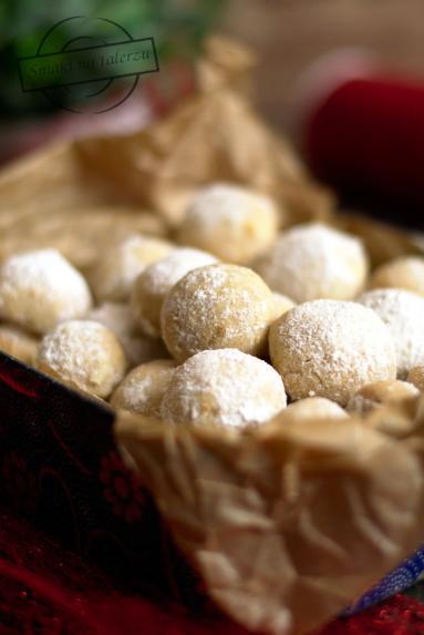 Zdjęcie - Śnieżne ciasteczka II (z cynamonem) - Przepisy kulinarne ze zdjęciami