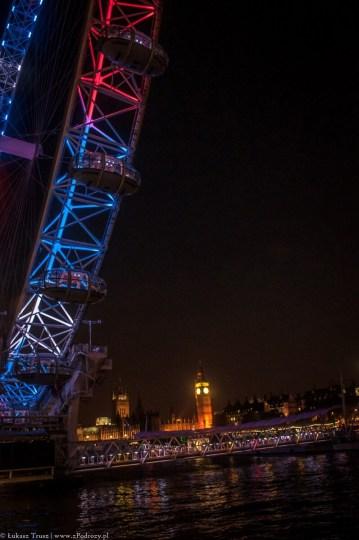 Wielka Brytania, Londyn - London Eye