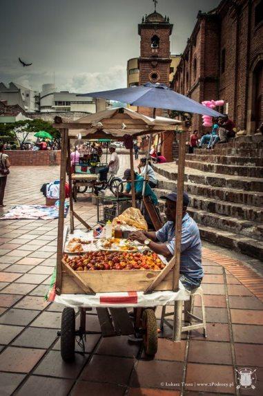 Kolejny sprzedawca owoców
