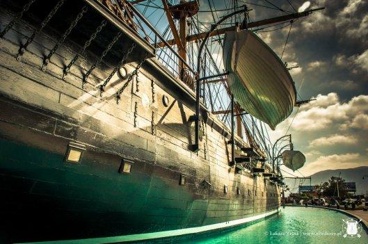 XIX wieczny statek - Esmeralda