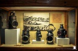 Muzeum reginalne - lampy do kopalni