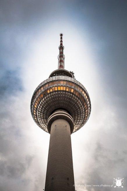 Berliner Fernsehturm - wieża telewizyjna