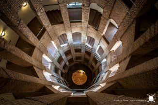 Wnętrze katedry francuskiej