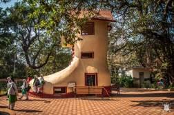 Bombaj - Indie - Hanging gardens - wiszące ogrody