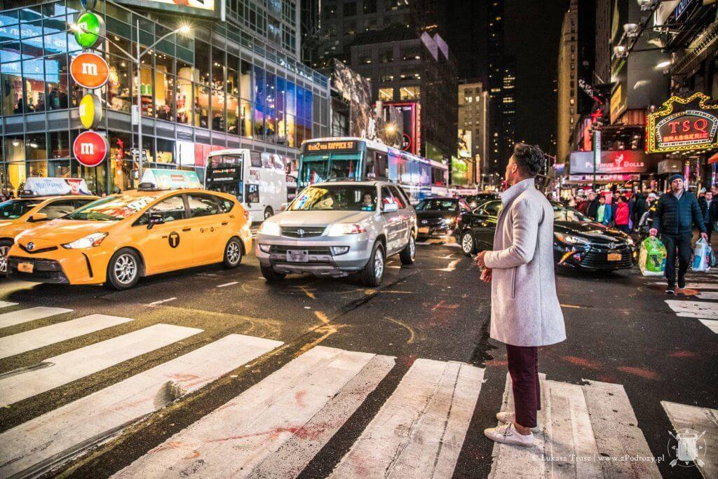 Time Square - Środkowy Manhattan - Nowy Jork