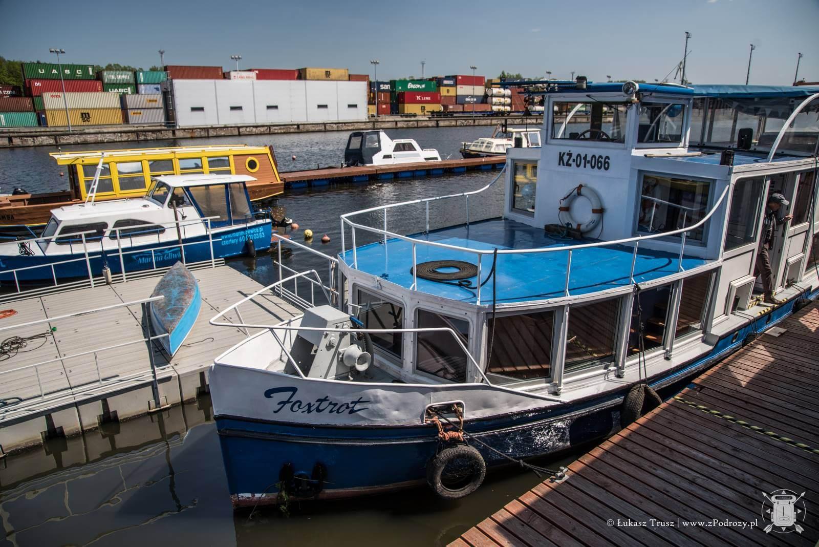 MArina Gliwice - Rejs po kanale gliwickim