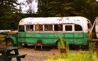 autobus z filmu Útěk do minulosti, Aljaška, USA; Honza Straka, E