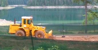 Divlja gradnja na Crnom jezeru 2