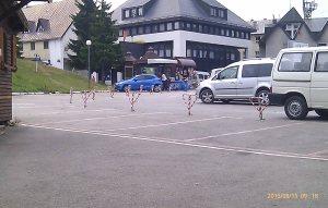 Parking hotela Zabljak 15 8 2015