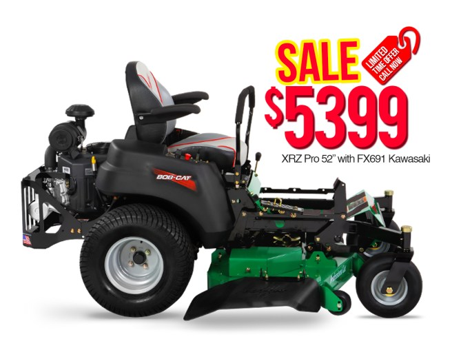 "Bob Cat 942621 XRZ Pro 52"" with FX691 Kawasaki $5399"