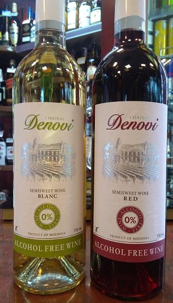 Mołdawskie wina bezalkoholowe.