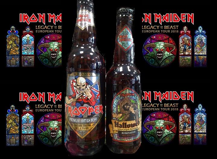 Koncert Iron Maiden i dostawa piw z serii Trooper