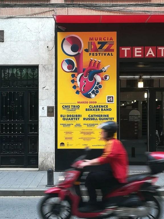 Vinilo Teatro Circo Murcia Murcia Jazz Festival.