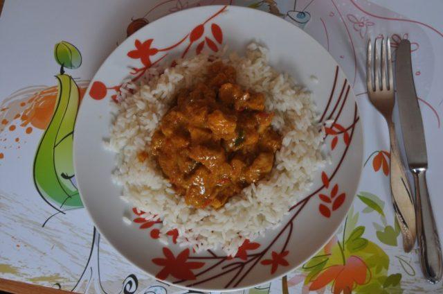 Kurczak Curry Fit