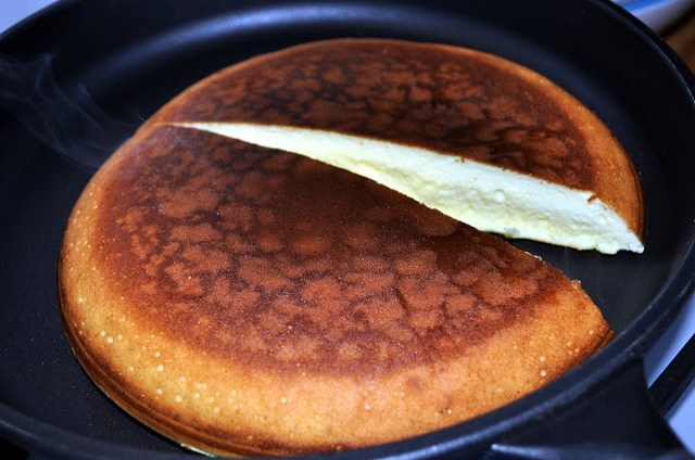 Omlet twarogowy jak sernik