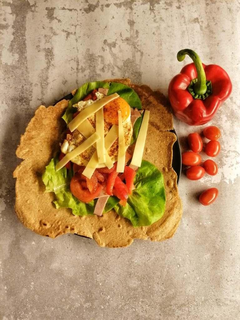 Dietetyczna tortilla domowej roboty