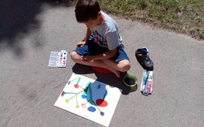 Malujeme záhon