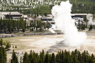 old faithful observation point