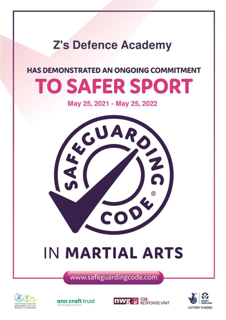 Safeguarding code 2021-22