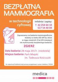 mammografia, zgierz