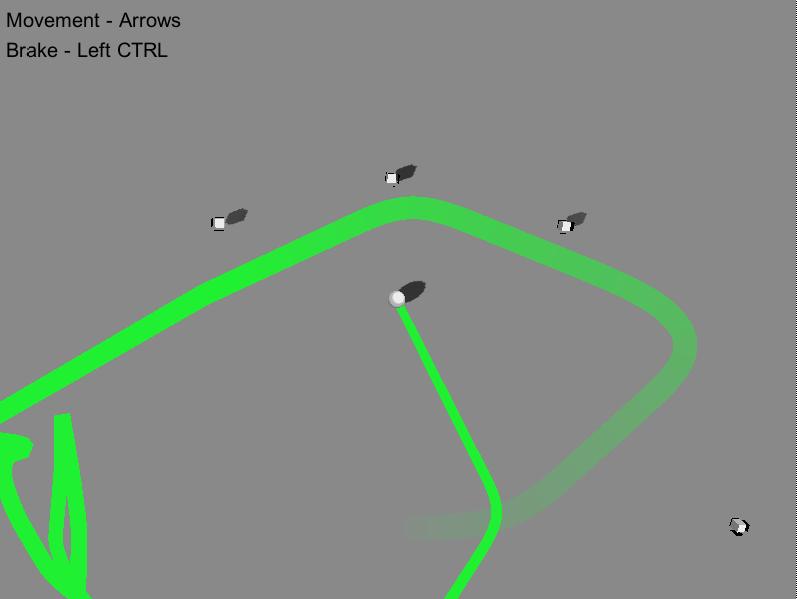 Screenshot of actual gameplay