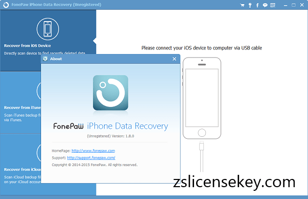 FonePaw iPhone Data Recovery Registration Key