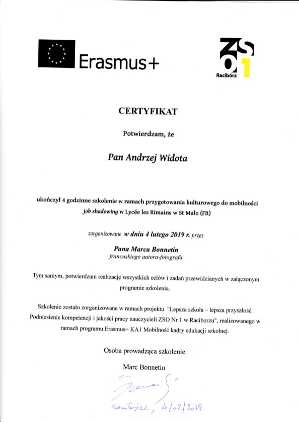 certyfikat_szkolenia kulturowe_Andrzej Widota