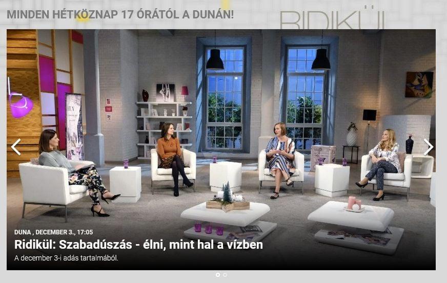 Dr. Szabó Orsolya a szabadúszásról a Ridikül című műsorban – Nézd vissza most!