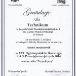 Gratulacje od Wojewody i Kuratora Oświaty