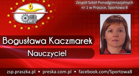 Bogusława Kaczmarek