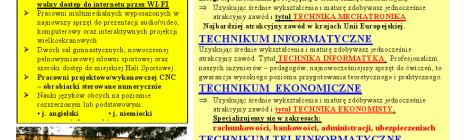 nabór na rok szkolny 2014/2015