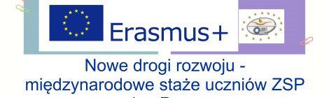 """""""ERASMUS+"""" Nowa Edycja 2018/19"""
