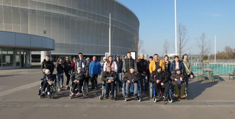 Wyjazd wolontariuszy na mecz do Wrocławia