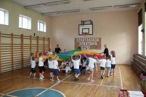 SPARTAKIADA 2013 Z AGATĄ KL. I i przedszkolaki 078