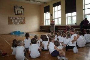 SPARTAKIADA 2013 Z AGATĄ KL. I i przedszkolaki 134
